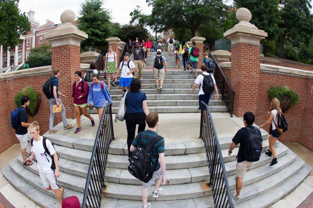 Park Hall Steps