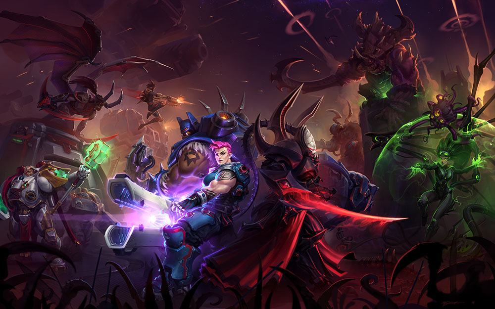 Machines of War promotional art for Heroes of the Storm