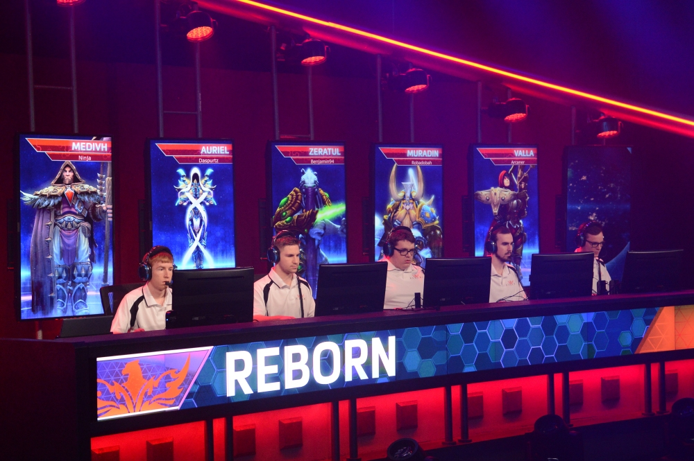 ANZ team Reborn at the HGC Fall Championship at BlizzCon