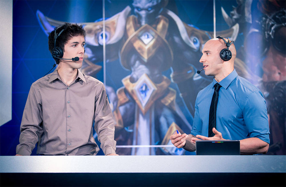 Grubby and Khaldor at Gamescom 2016