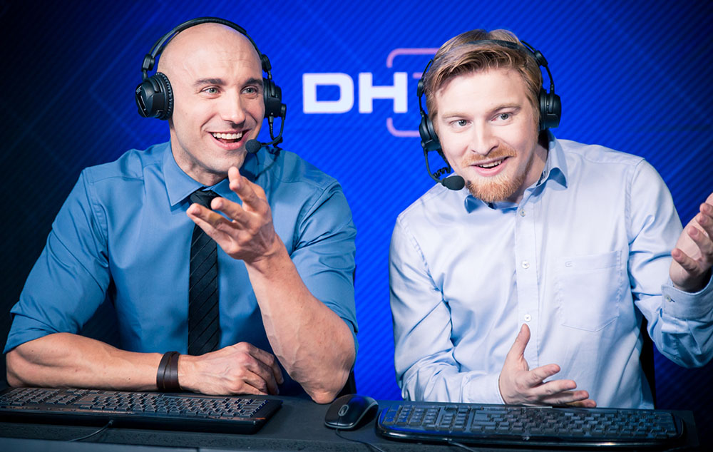 Khaldor and Kaelaris at DreamHack Valencia 2016